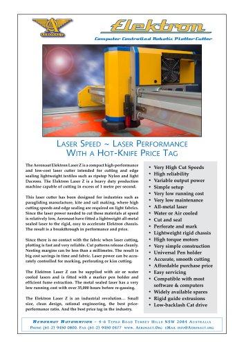 Elektron Laser Z Cutter