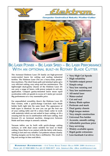 Elektron Laser ZX Cutter