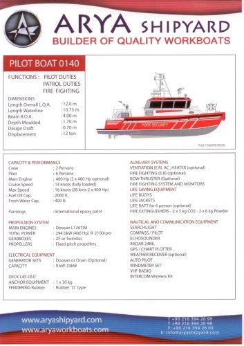 PILOT BOAT 0140 (FIRE FIGHTER)