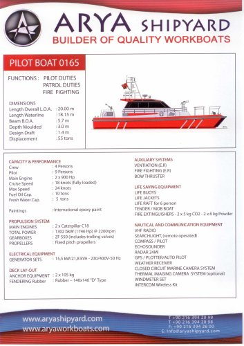 PILOT BOAT 0165