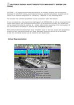 SIMULATOR OF GLOBAL MARITIME DISTRESS AND SAFETY SYSTEM (VR-COMM)