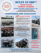 Marine Fenders International - foam filled fenders and resilient buoys
