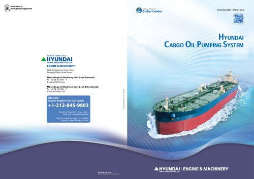 cargo oil pumping System