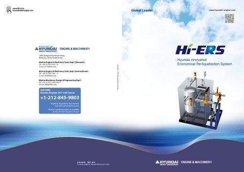 Hyundai innovative Economical Re-liquefaction System
