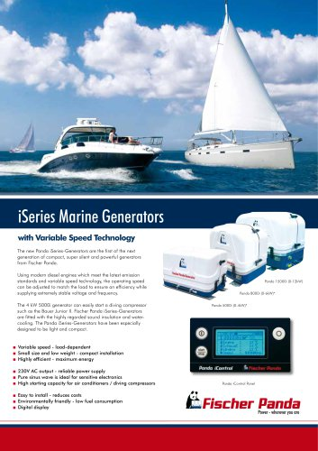 iSeries Marine Generators