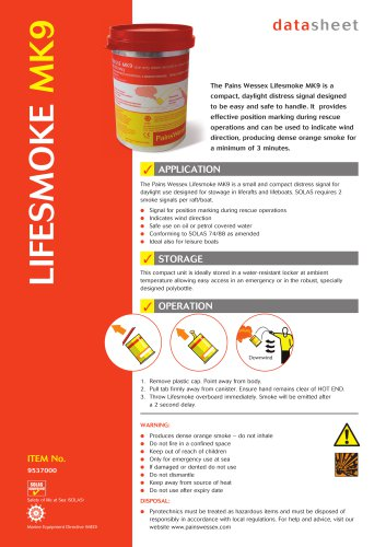 Lifesmoke MK9
