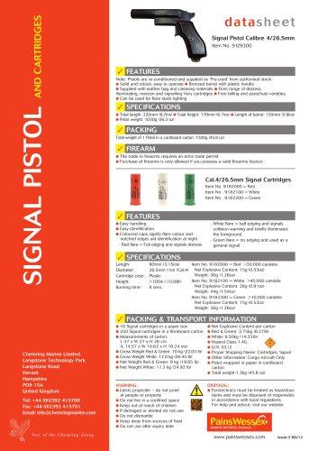 Signal Pistol Calibre 4 (26,5 mm)