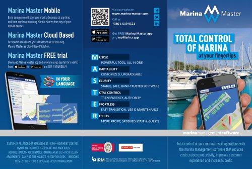 Marina Master brochure