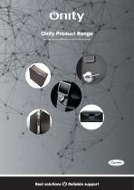 Onity Product Range