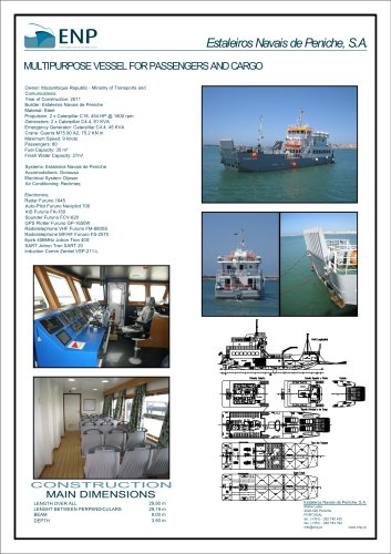 30m SMALL LANDING CRAFT FOR CONTAINERS AND CARGO