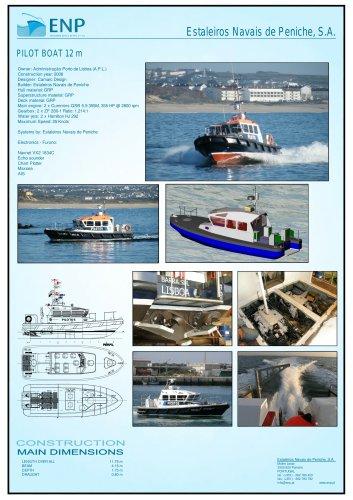 Pilot Boat 12 m Waterjet