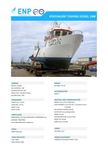 POLYVALENT FISHING VESSEL 14M