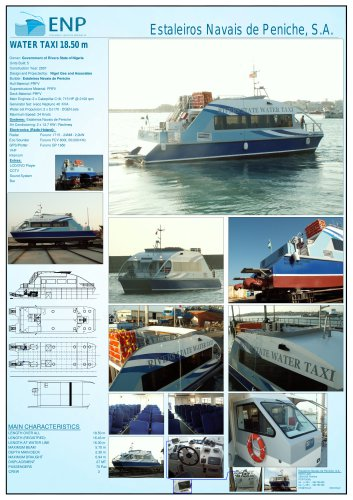 WATER TAXI 18.50 m