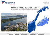 SHIPBUILDING REFERENCE LIST 2016