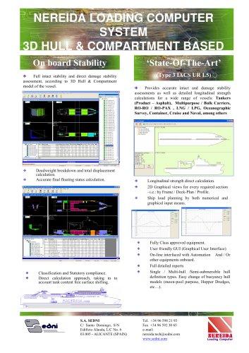 Nereida-Loading-Computer-data-sheet
