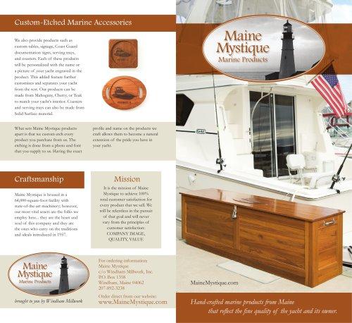 Maine Mystique Brochure