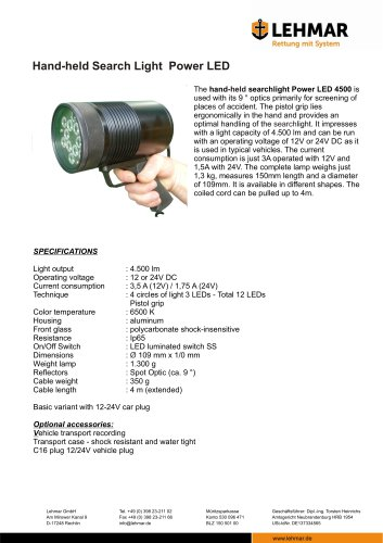 LED 4500 Handheld