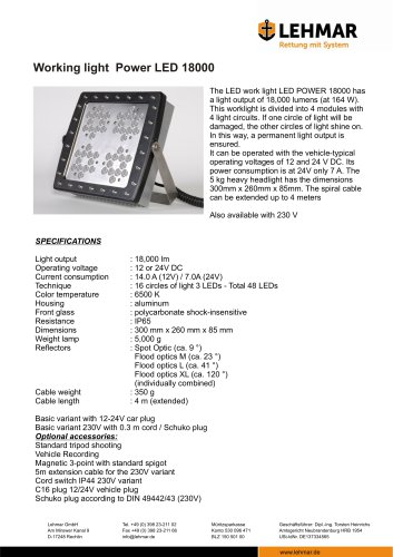 Power LED 18000