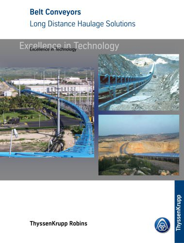 Conveyors - Solutions to Long Haul and Environmental Challenges