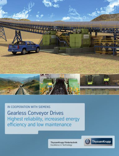 Gearless Drives for Overland Conveyors