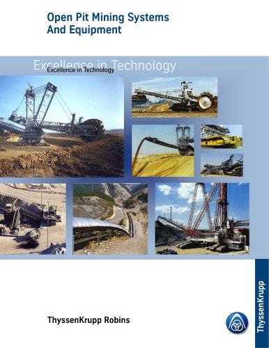Open Pit Mining Equipment