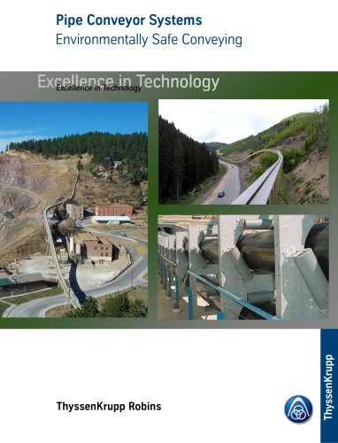 Pipe Conveyors - Environmental Solutions to Haulage