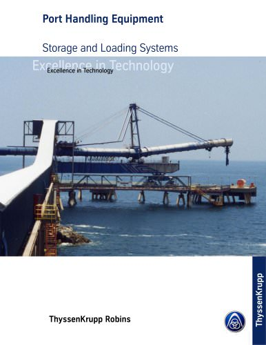 Port Handling Equipment - Storage and Loading Systems