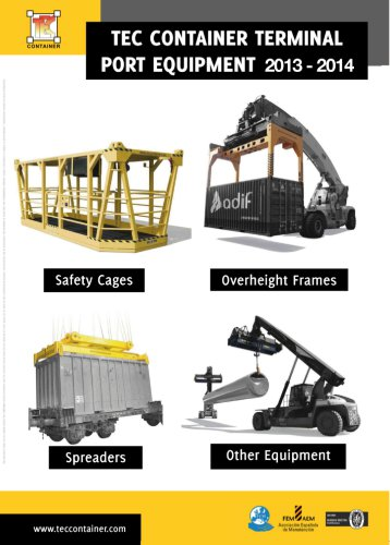 TEC CONTAINER TERMINAL PORT EQUIPMENT 2013-2014