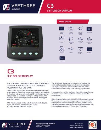 "C3 - 3.5"" Color Display"