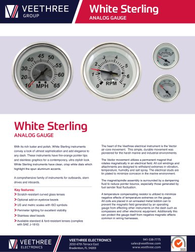 White Sterling Line