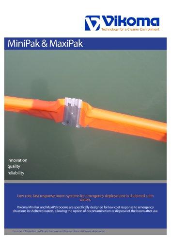 Minipak & Maxipak Boom