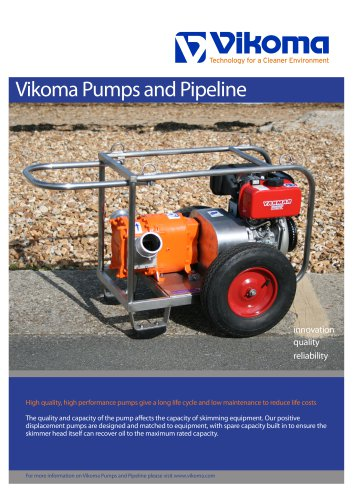 Vikoma Pumps and Pipeline