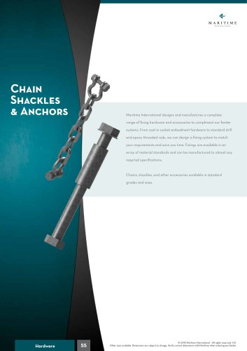 Chain Shackles & Anchors