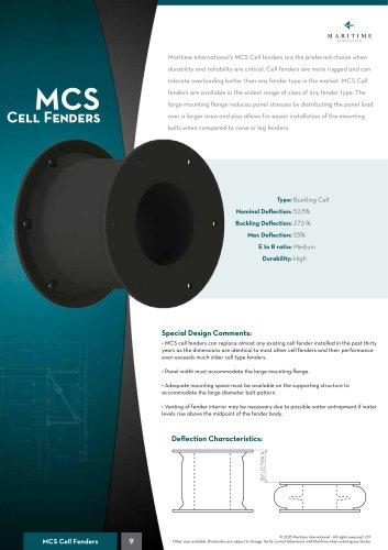 MCS Cell fenders