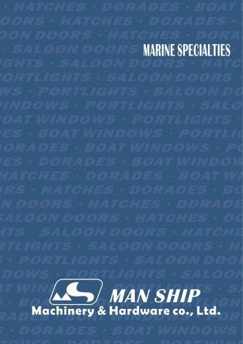 marine specialties