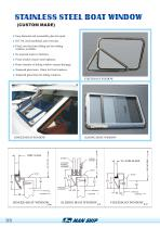 STAINLESS STEEL BOAT WINDOW