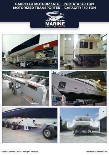 Motorized Transporter capacity 140 ton