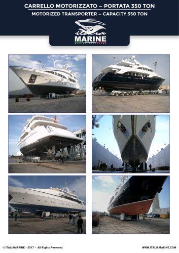 Motorized Transporter capacity 350 ton