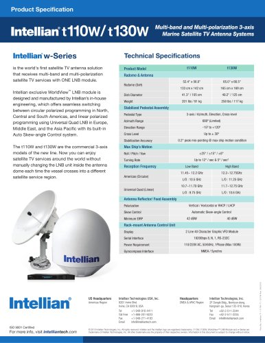 INTELLIAN  T110W/T130W