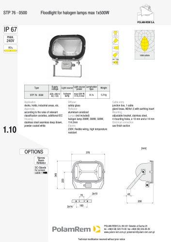 STP 76-0500