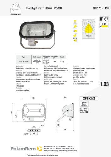STP 76-1400