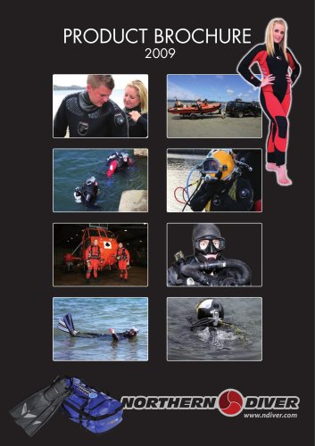 RECREATIONAL DIVING PRODUCT BROCHURE