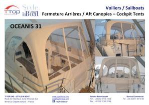 Cockpit Tents for sailboats