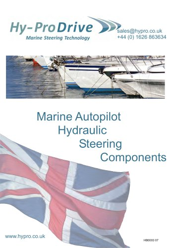 Hy-ProDrive Marine Autopilot Hydraulic Steering Components