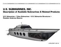 U.S. SUBMARINES, INC. - 1