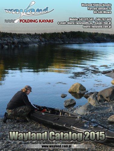 2015 WAYLAND Folding Kayaks