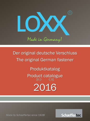 LOXX® - Automotive Catalog 2016