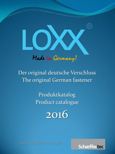 LOXX® - The Catalogue 2016