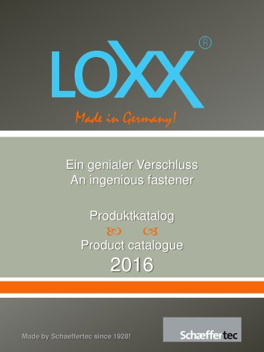 LOXX® - The Liefstyle catalogue 2016