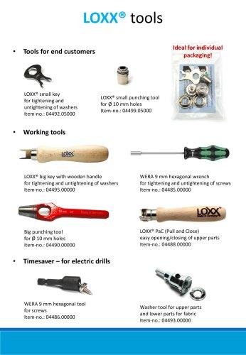 LOXX® tools